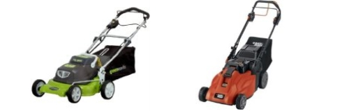 self-propelled cordless mowers