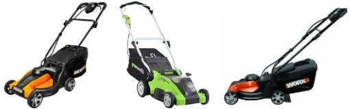 smaller cordless electric lawn mowers