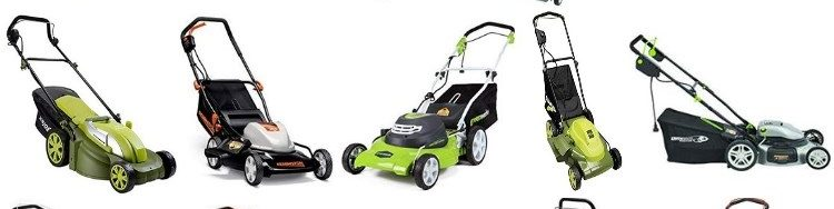 2019-Best Corded Electric Lawn Mowers