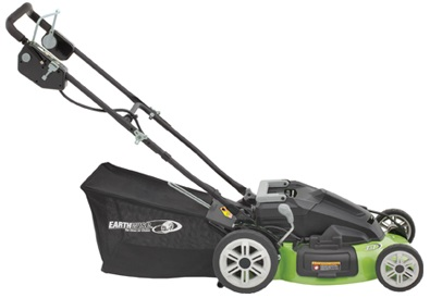 Earthwise cordless lawn mower